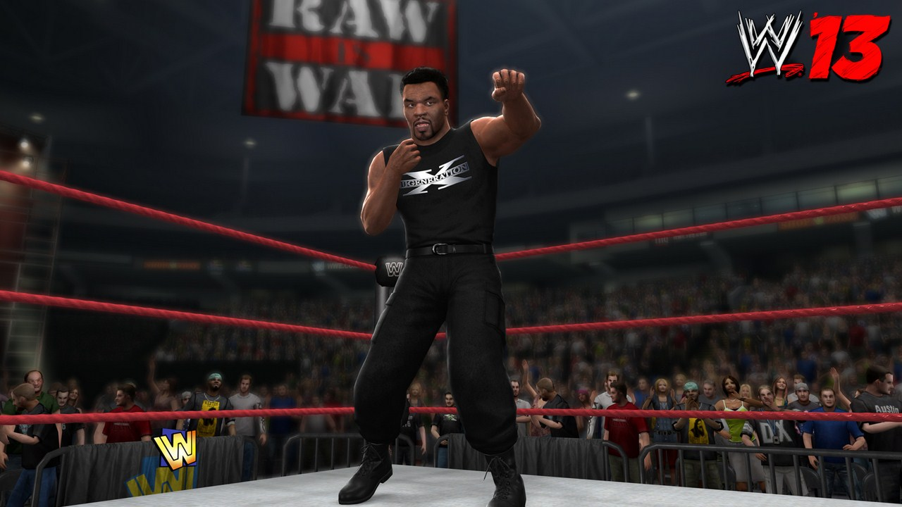 WWE 13 : Mike Tyson en plein catch | 1