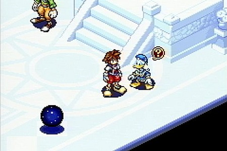 Kingdom Hearts : chain of memories GameBoy Advance | 2
