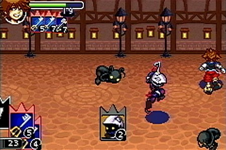 Kingdom Hearts : chain of memories GameBoy Advance | 4