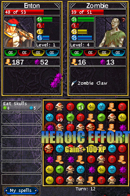 Puzzle Quest : Challenge of the Warlords Nintendo DS | 4