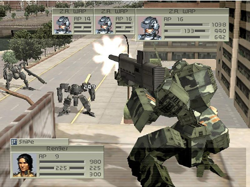 Front Mission 4 Playstation 2 | 1