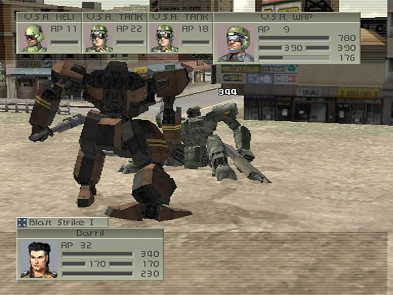 Front Mission 4 Playstation 2   2