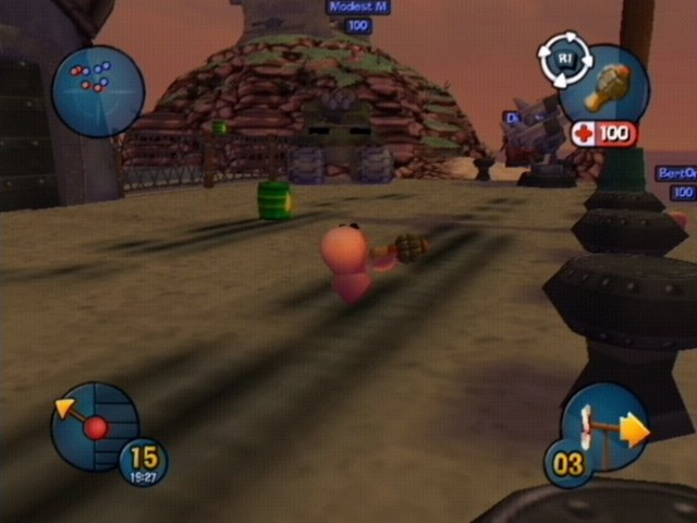 Worms 3D GameCube | 1