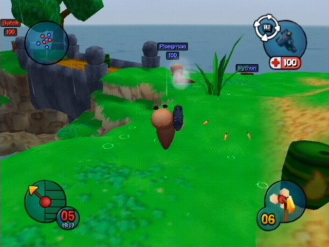 Worms 3D GameCube | 2