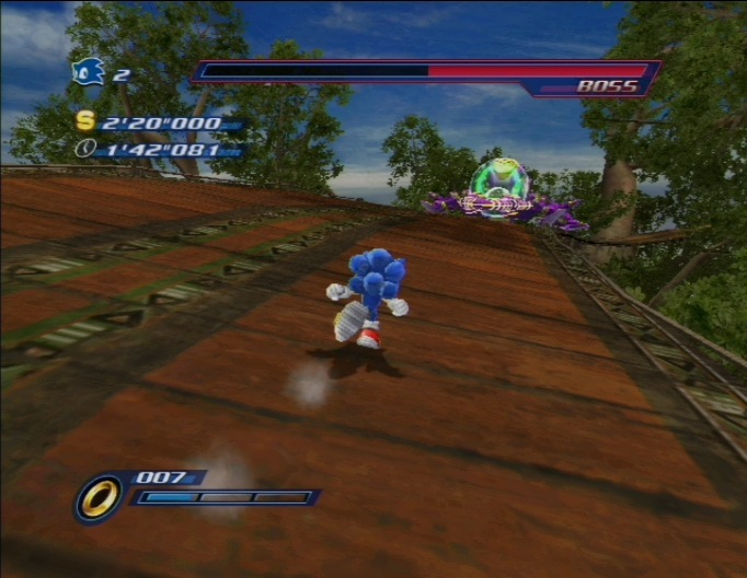 Sonic Unleashed WII | 9