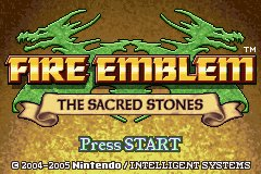 Fire Emblem : The Sacred Stones GameBoy Advance | 5