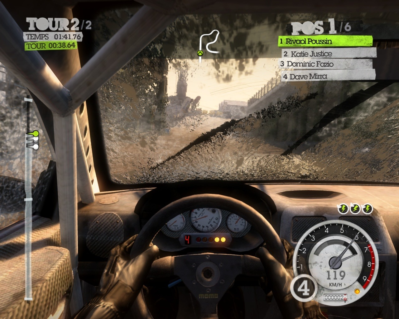 image 1 de colin mcrae dirt 2 sur pc. Black Bedroom Furniture Sets. Home Design Ideas