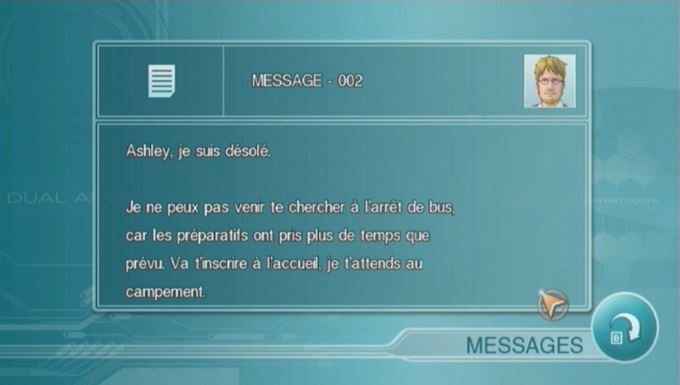 Another Code : R - Les Portes de la Mémoire WII | 15