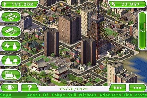 SimCity Deluxe iPhone | 2