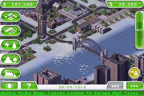 SimCity Deluxe iPhone | 3