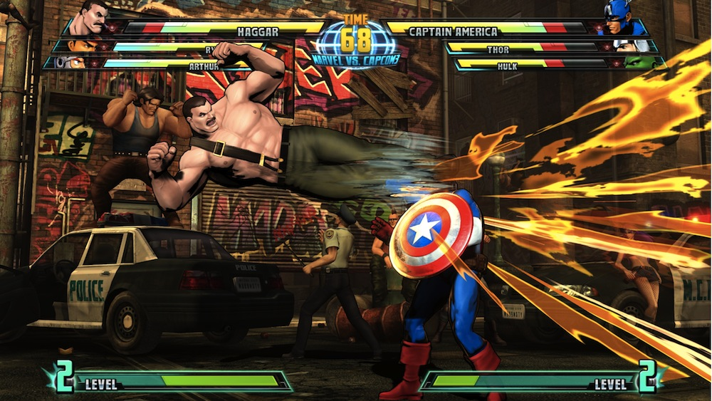 Marvel vs Capcom 3 : Fate of Two Worlds Playstation 3 | 105