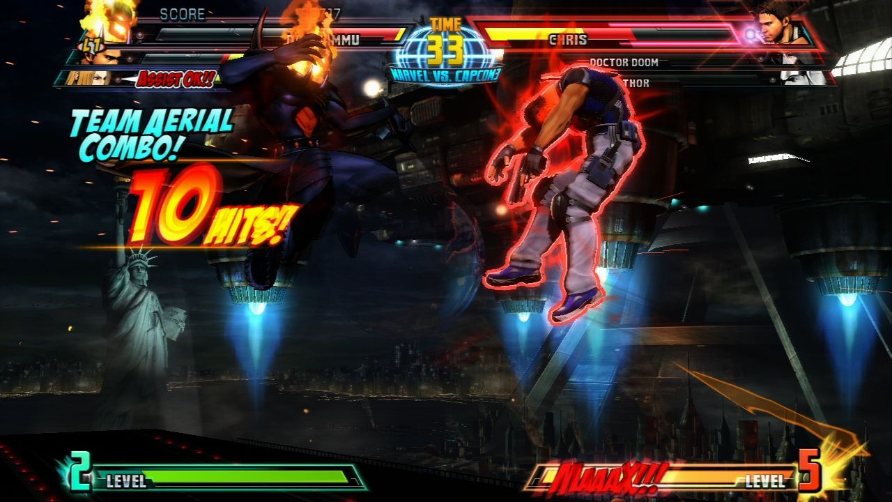 Marvel vs Capcom 3 : Fate of Two Worlds Playstation 3 | 128