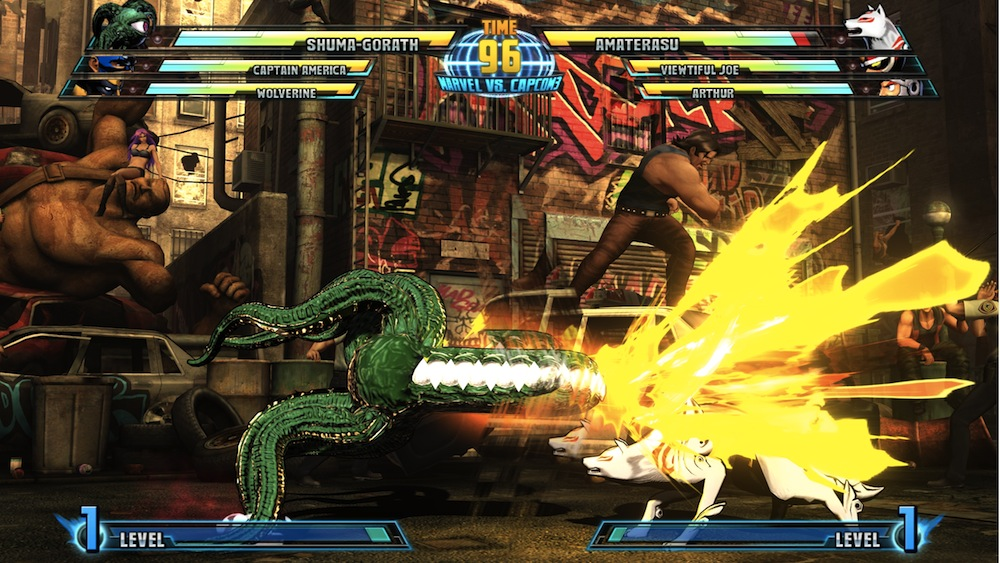 Marvel vs Capcom 3 : Fate of Two Worlds Playstation 3 | 167