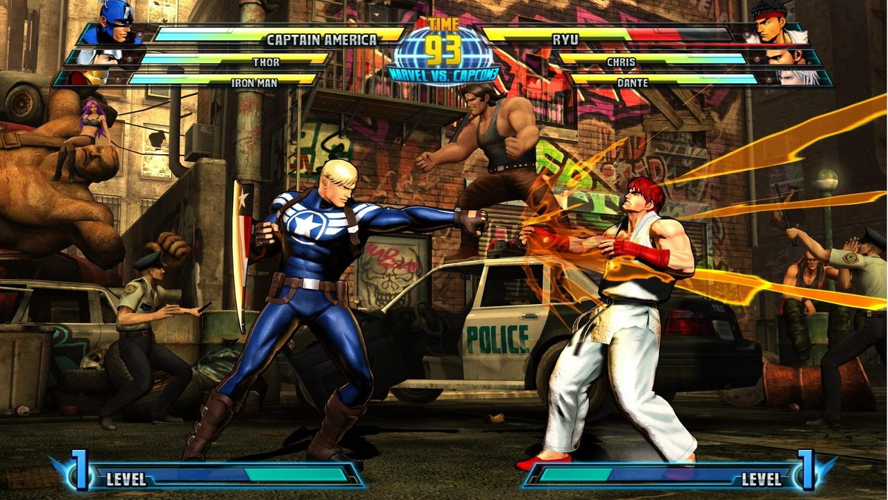 Marvel vs Capcom 3 : Fate of Two Worlds Playstation 3 | 179