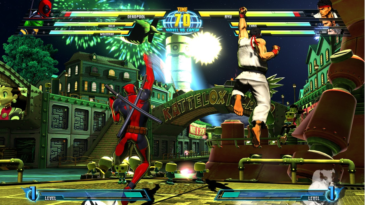 Marvel vs Capcom 3 : Fate of Two Worlds Playstation 3 | 18