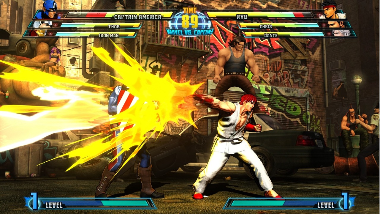 Marvel vs Capcom 3 : Fate of Two Worlds Playstation 3 | 183