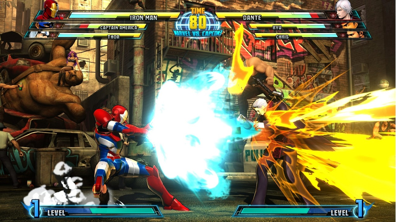 Marvel vs Capcom 3 : Fate of Two Worlds Playstation 3 | 184