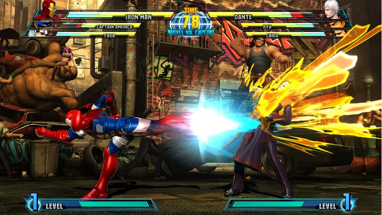 Marvel vs Capcom 3 : Fate of Two Worlds Playstation 3 | 185