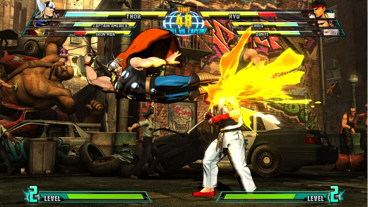 Marvel vs Capcom 3 : Fate of Two Worlds Playstation 3 | 186