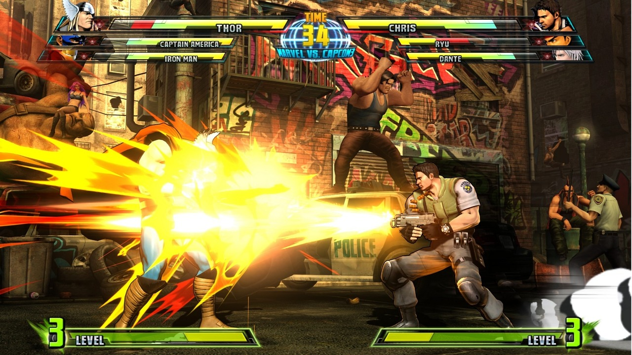 Marvel vs Capcom 3 : Fate of Two Worlds Playstation 3 | 189