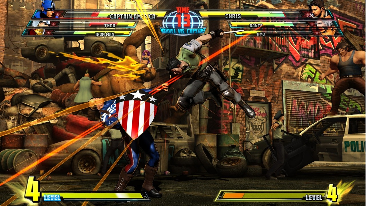 Marvel vs Capcom 3 : Fate of Two Worlds Playstation 3 | 191