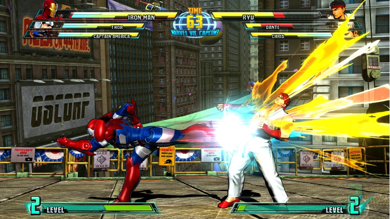 Marvel vs Capcom 3 : Fate of Two Worlds Playstation 3 | 200
