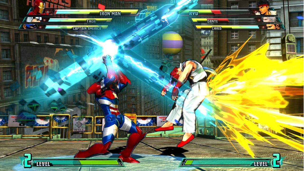 Marvel vs Capcom 3 : Fate of Two Worlds Playstation 3 | 201