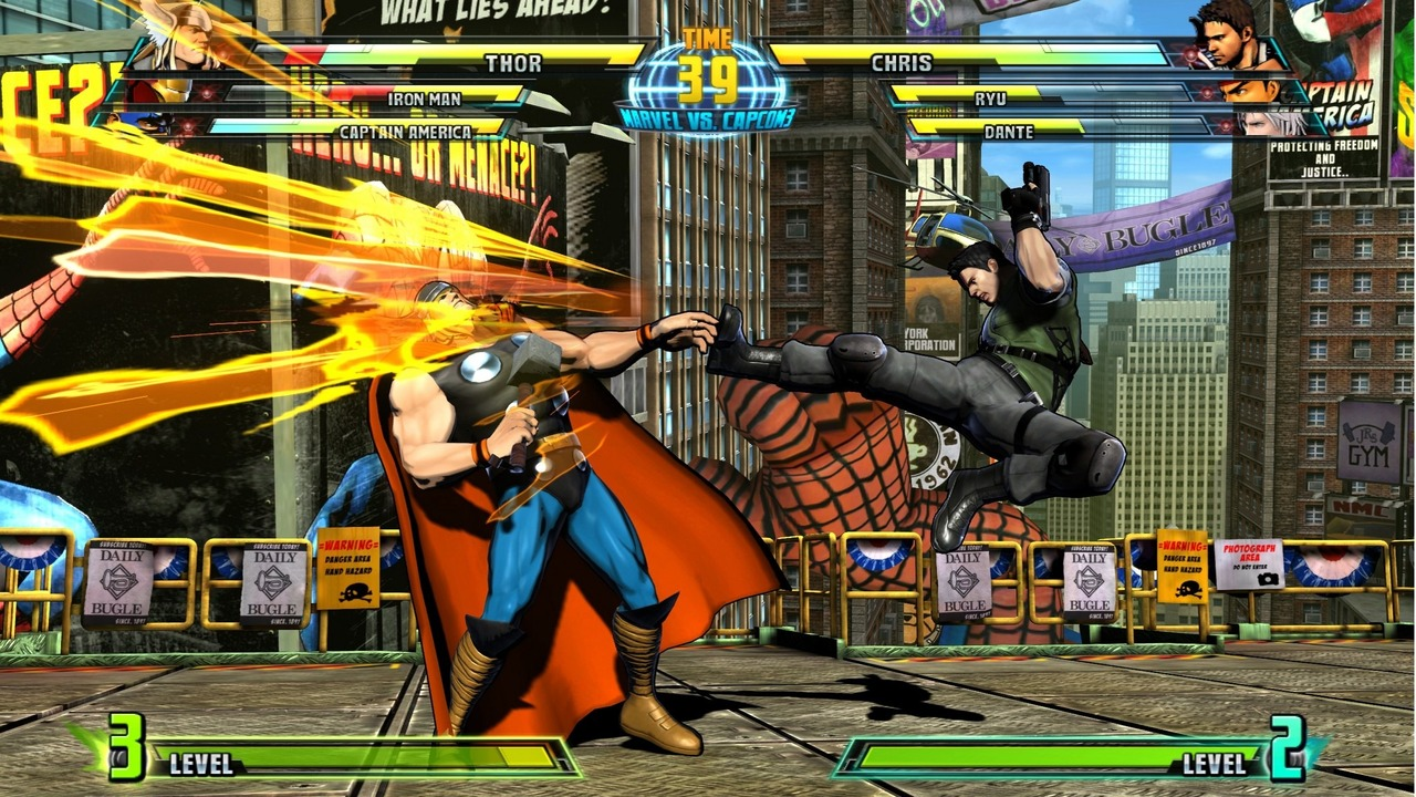 Marvel vs Capcom 3 : Fate of Two Worlds Playstation 3 | 204