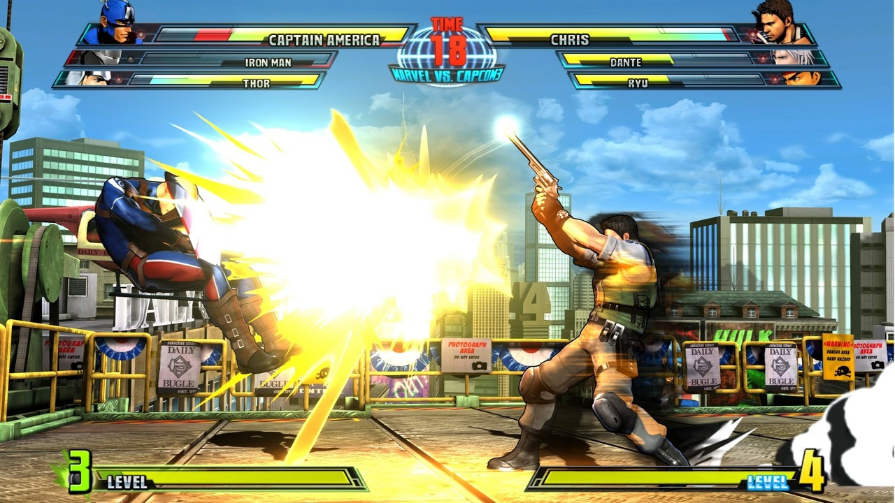 Marvel vs Capcom 3 : Fate of Two Worlds Playstation 3 | 206
