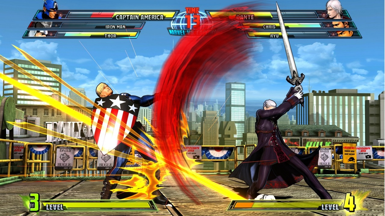 Marvel vs Capcom 3 : Fate of Two Worlds Playstation 3 | 207