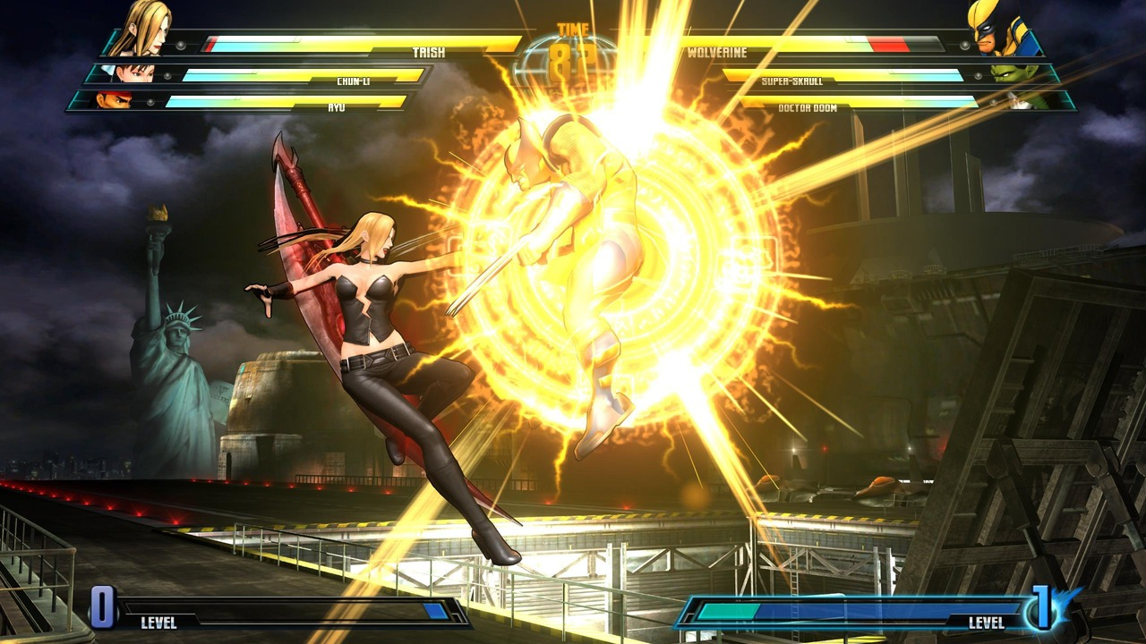 Marvel vs Capcom 3 : Fate of Two Worlds Playstation 3 | 48