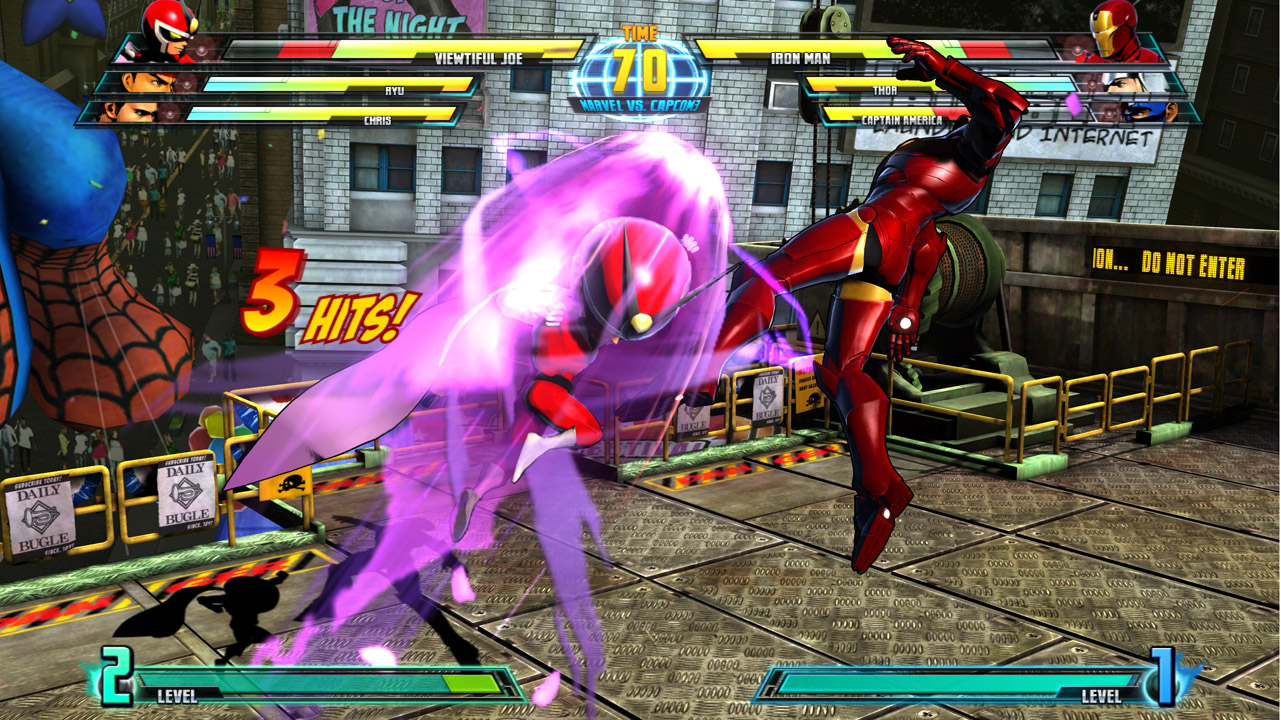 Marvel vs Capcom 3 : Fate of Two Worlds Playstation 3 | 55