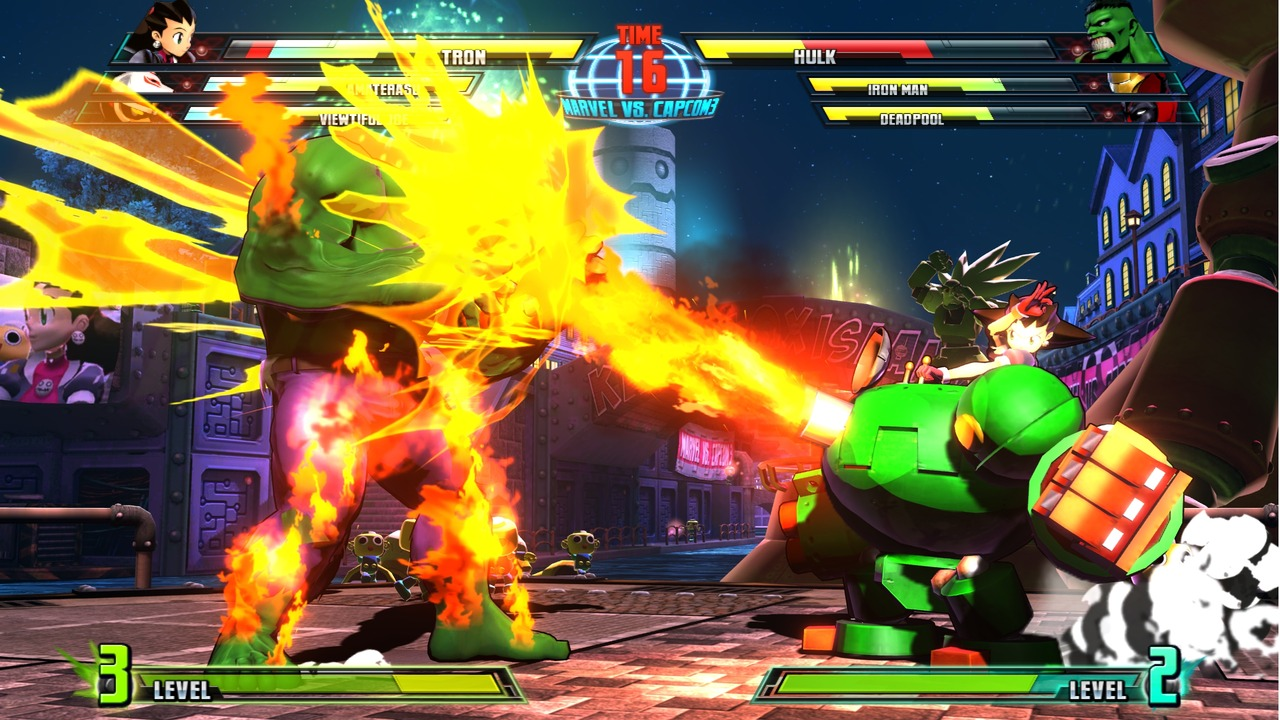 Marvel vs Capcom 3 : Fate of Two Worlds Playstation 3 | 80