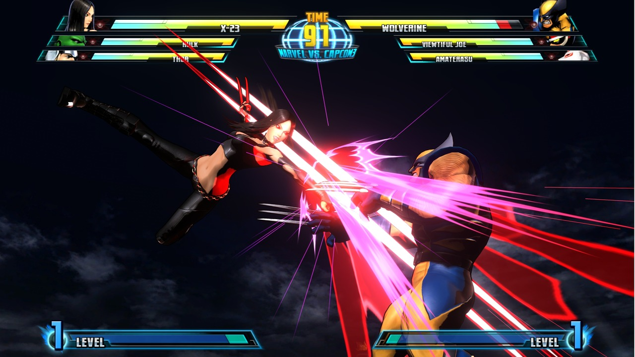Marvel vs Capcom 3 : Fate of Two Worlds Playstation 3 | 87