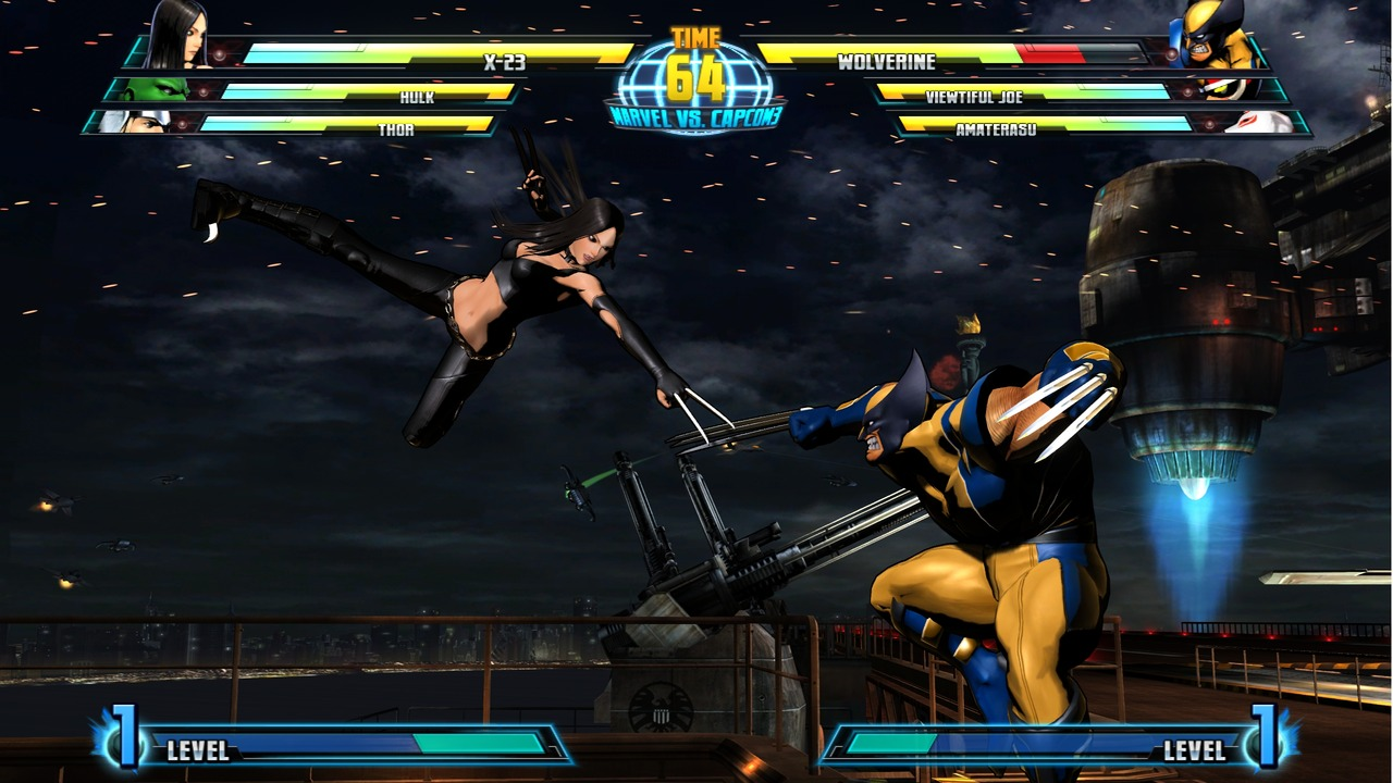 Marvel vs Capcom 3 : Fate of Two Worlds Playstation 3 | 88