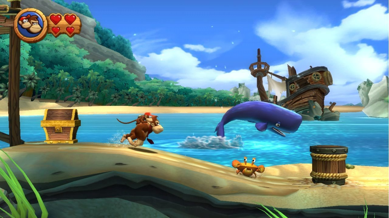 Donkey Kong Country Returns WII | 13
