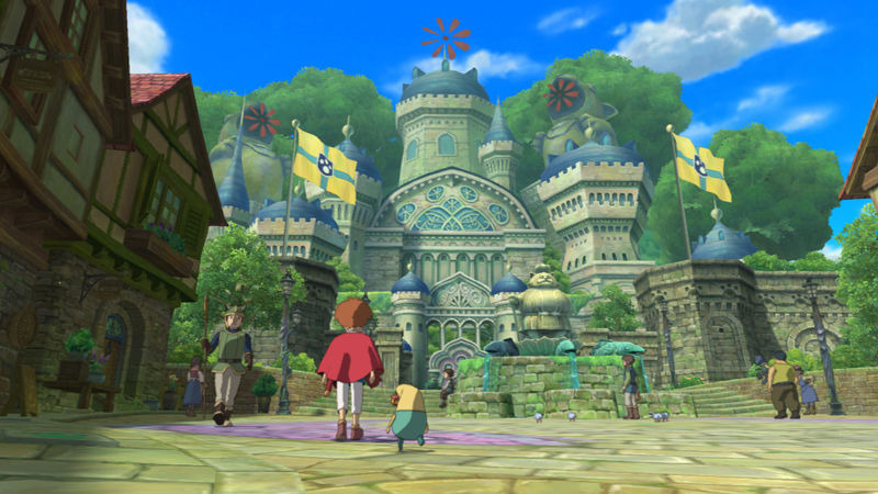 NinoKuni : Queen of the Holy White Ash Playstation 3 | 1