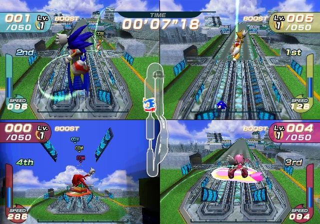 Sonic Riders Playstation 2 | 7
