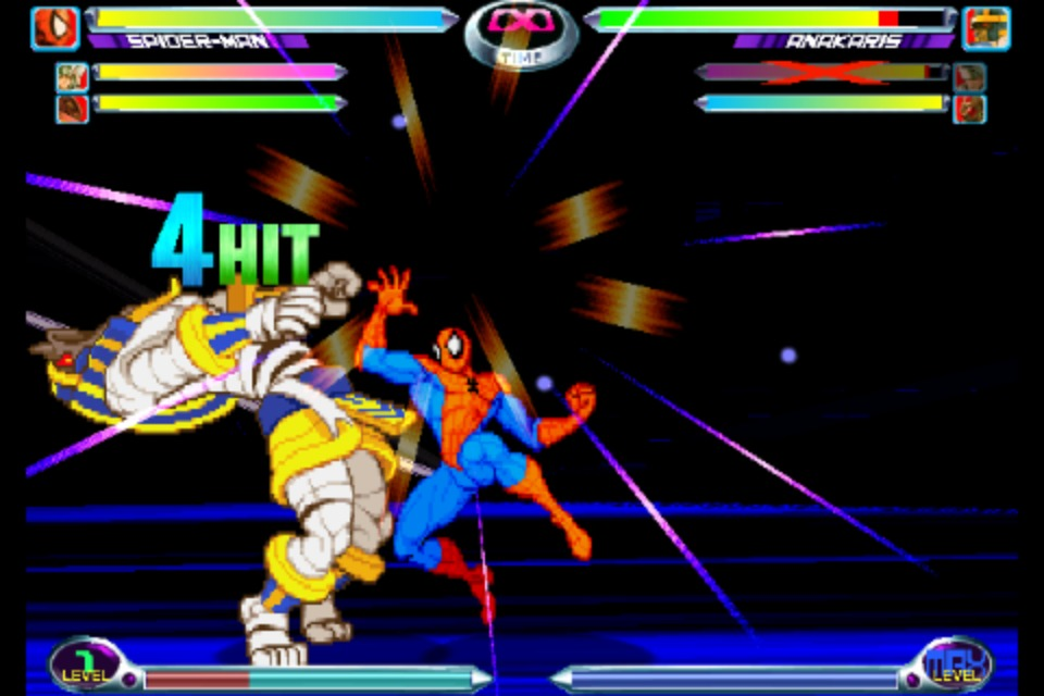 Marvel vs Capcom 2 iPhone | 2