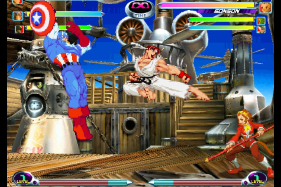 Marvel vs Capcom 2 iPhone | 7