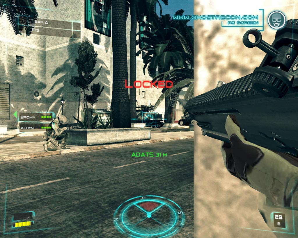 Tom Clancy's Ghost Recon Advanced Warfighter PC ( Image 9 sur 33 )