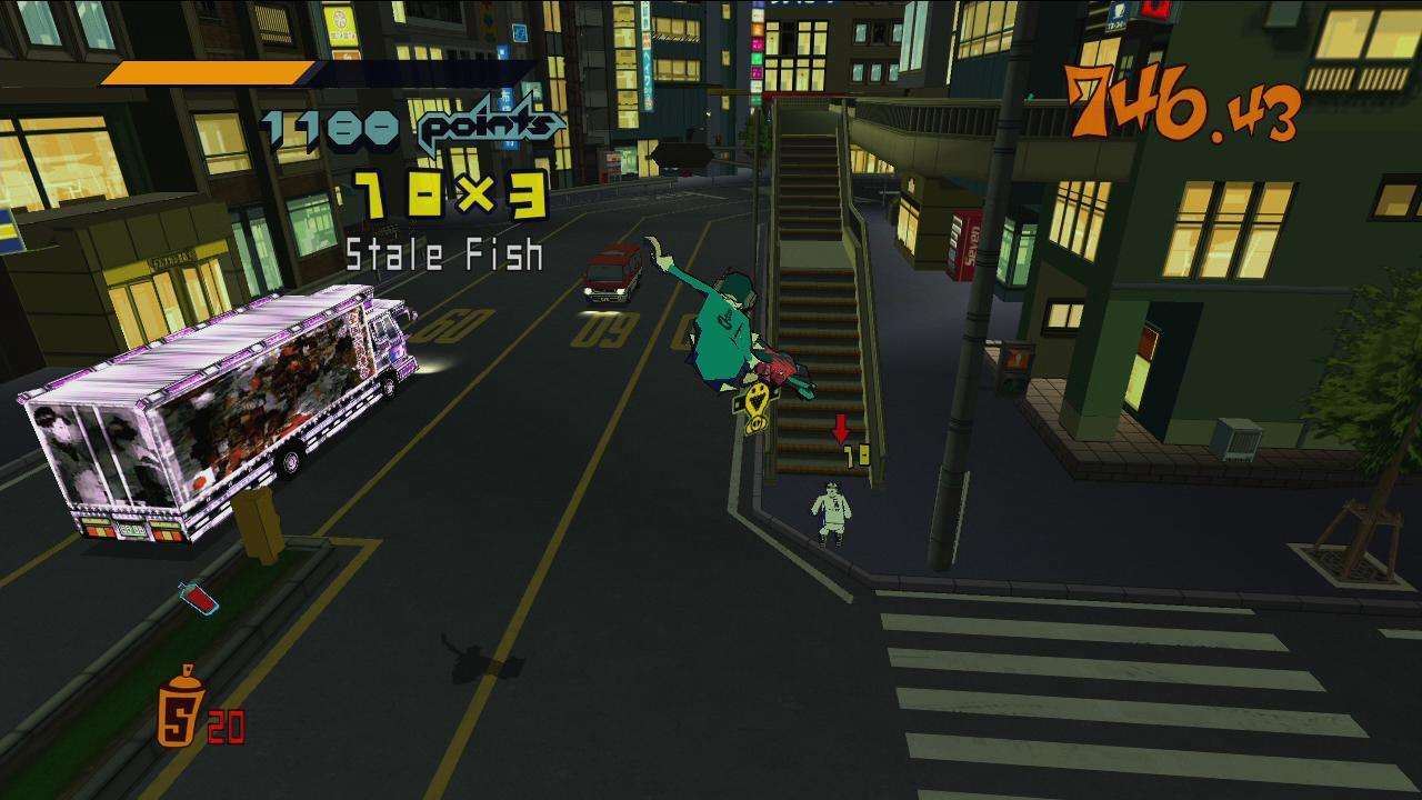 Jet Set Radio Next Generation Portable | 1
