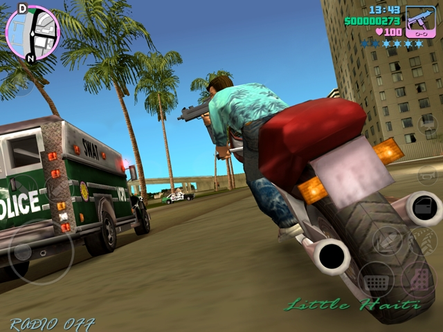 Grand Theft Auto : Vice City 10th Anniversary Edition iPhone | 1