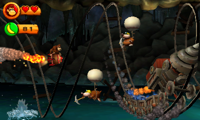 Donkey Kong Country Returns Nintendo 3DS | 2