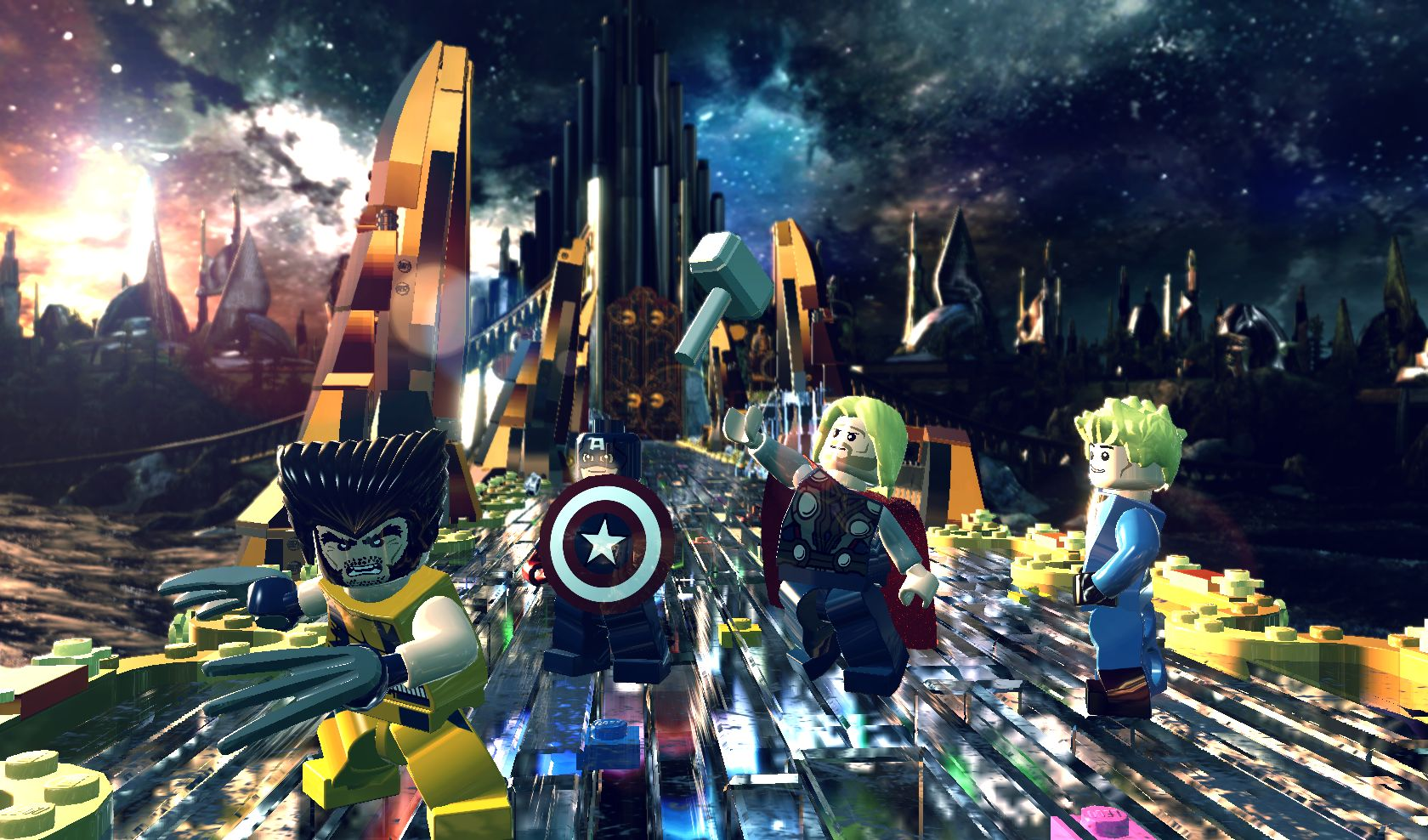 LEGO Marvel Next Generation Portable | 1